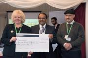 Youth organisation presents £340,000 to UK charities at Parliament reception